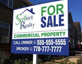 teAmGrafic tarafından real estate sign için no 11