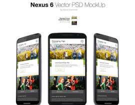 Nro 6 kilpailuun Design a Website+Mobile site/app Mockup käyttäjältä manojkaninwal