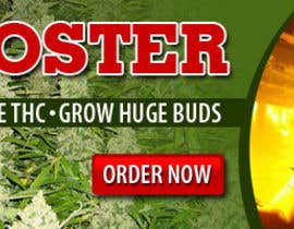 #6 para Design a banner for a marijuana fertilizer por amitroy777