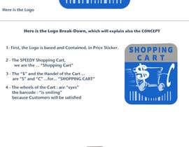 Nro 46 kilpailuun logo for a shopping cart käyttäjältä KhaledZakaria