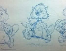 Nro 1 kilpailuun Beaver Cartoon käyttäjältä ecomoglio