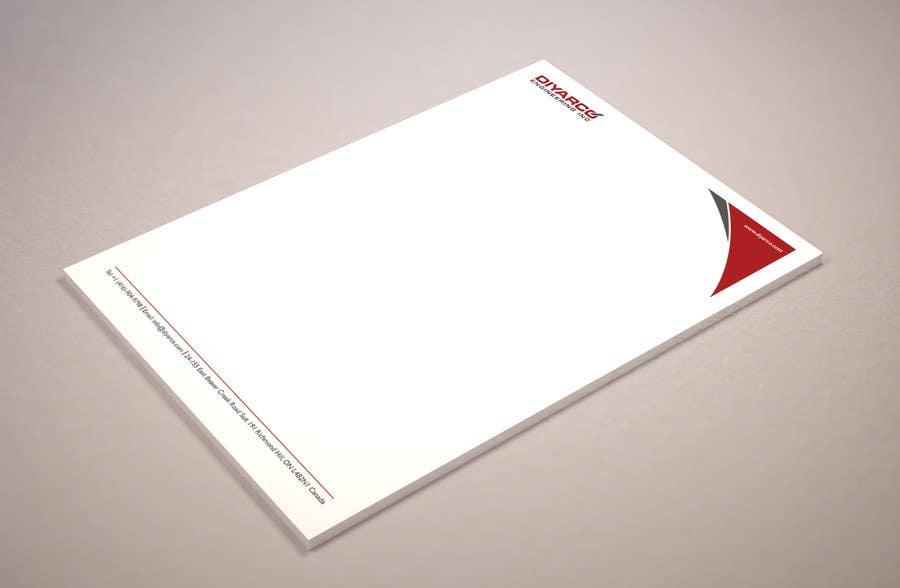 Kilpailutyö #7 kilpailussa Design company's letterhead