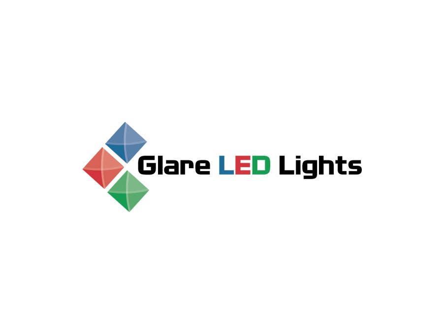 Konkurrenceindlæg #1 for Design a Logo for Glare LED Lights