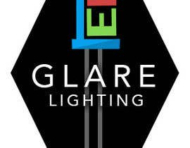 #11 cho Design a Logo for Glare LED Lights bởi elliotstack