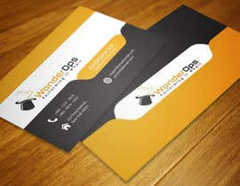 #14 for Design some Business Cards for WonderOps by FlatDesigners