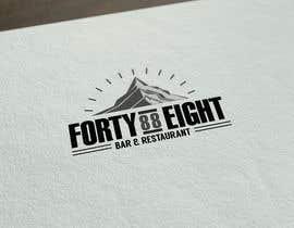 Nro 281 kilpailuun Design a Logo 88FortyEight Bar and Restaurant käyttäjältä Cfigueroahe