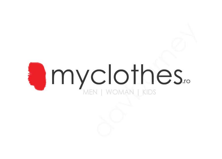 Kilpailutyö #24 kilpailussa Design a Logo for MyClothes.ro
