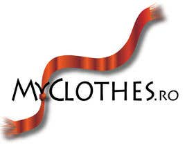 #31 para Design a Logo for MyClothes.ro por ssanja