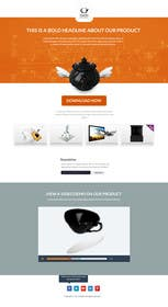 #6 para Design a single page (not parallax) Website por okakzai