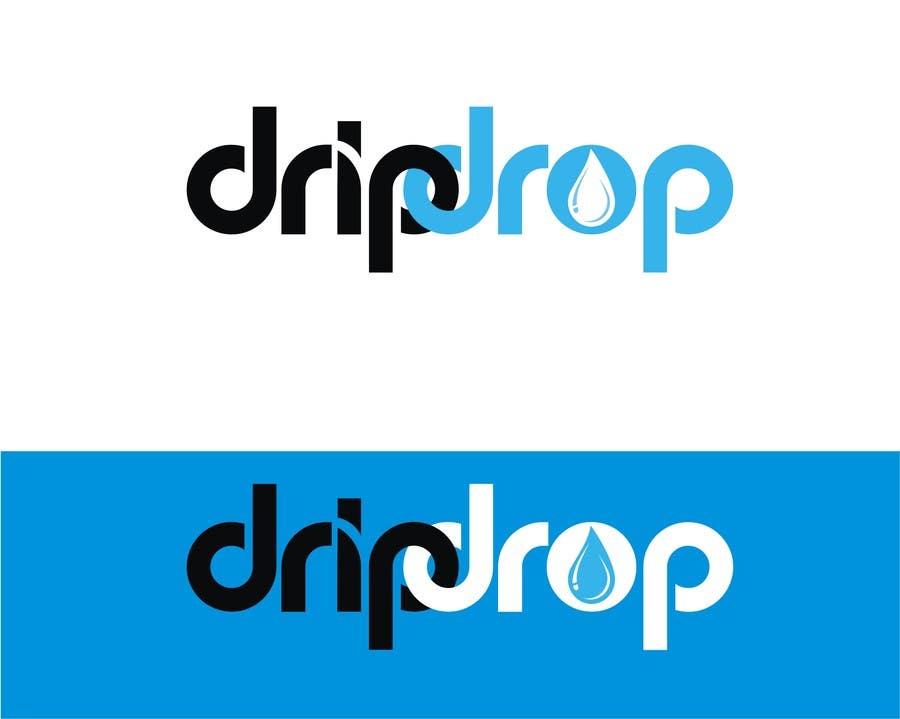 Kilpailutyö #128 kilpailussa Design a Logo for DRIP DROP