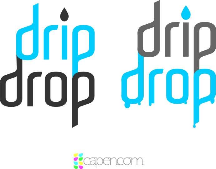 Kilpailutyö #24 kilpailussa Design a Logo for DRIP DROP