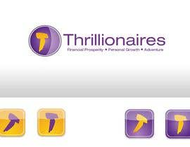 #393 za Logo Design for Thrillionaires od fecodi