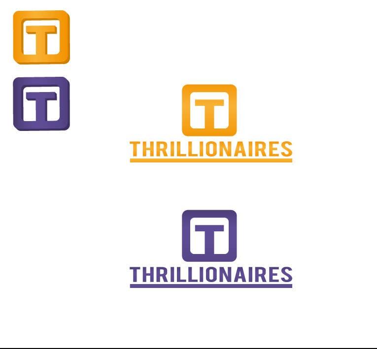 Wettbewerbs Eintrag #378 für Logo Design for Thrillionaires
