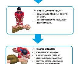 #6 para Reillustration of CPR Instructions. por shahid1981