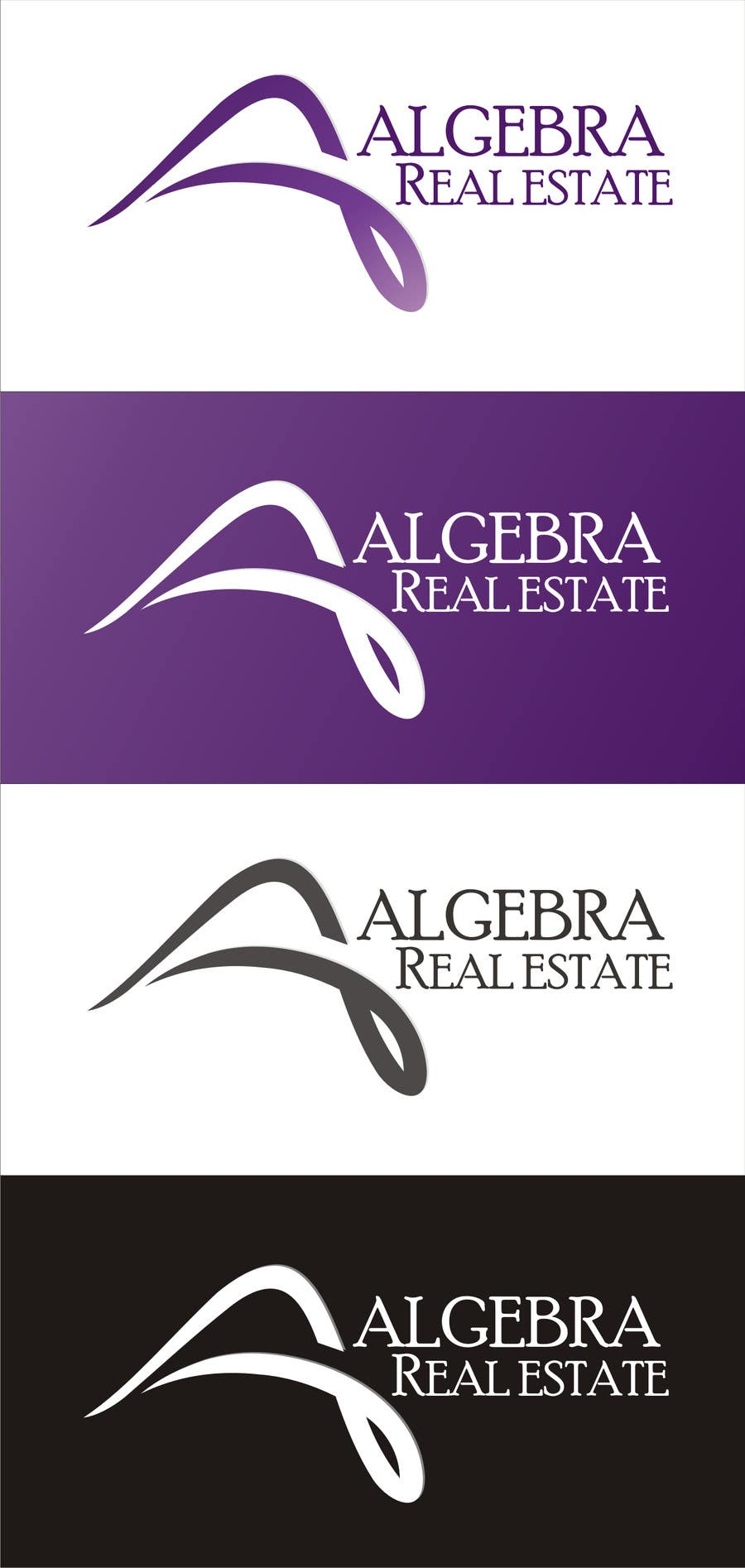 #96 for Design a Logo for Algebra Real Estate by niravashara