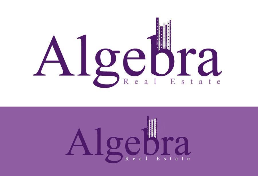 Penyertaan Peraduan #271 untuk Design a Logo for Algebra Real Estate