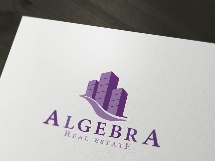Penyertaan Peraduan #374 untuk Design a Logo for Algebra Real Estate