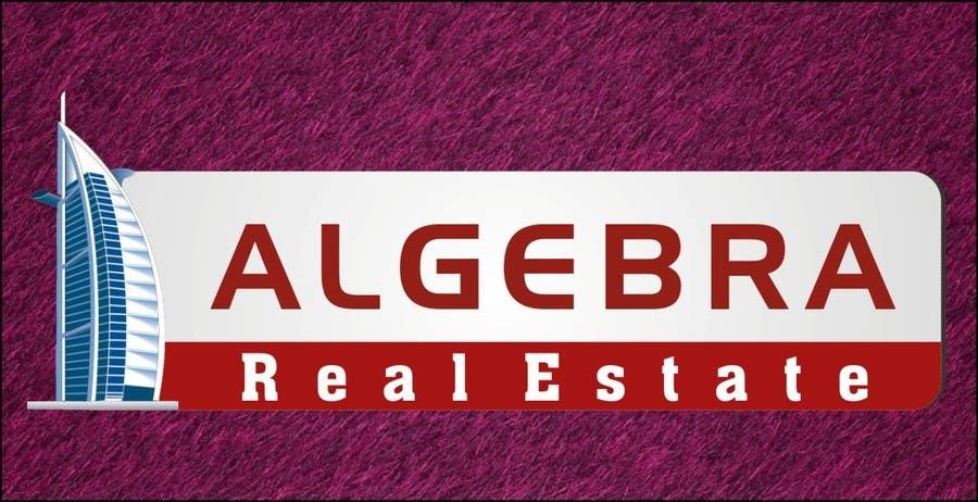 Penyertaan Peraduan #240 untuk Design a Logo for Algebra Real Estate
