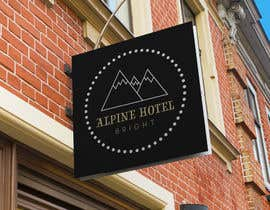 Nro 19 kilpailuun Design a Logo for Alpine Hotel Bright käyttäjältä stuartcorlett