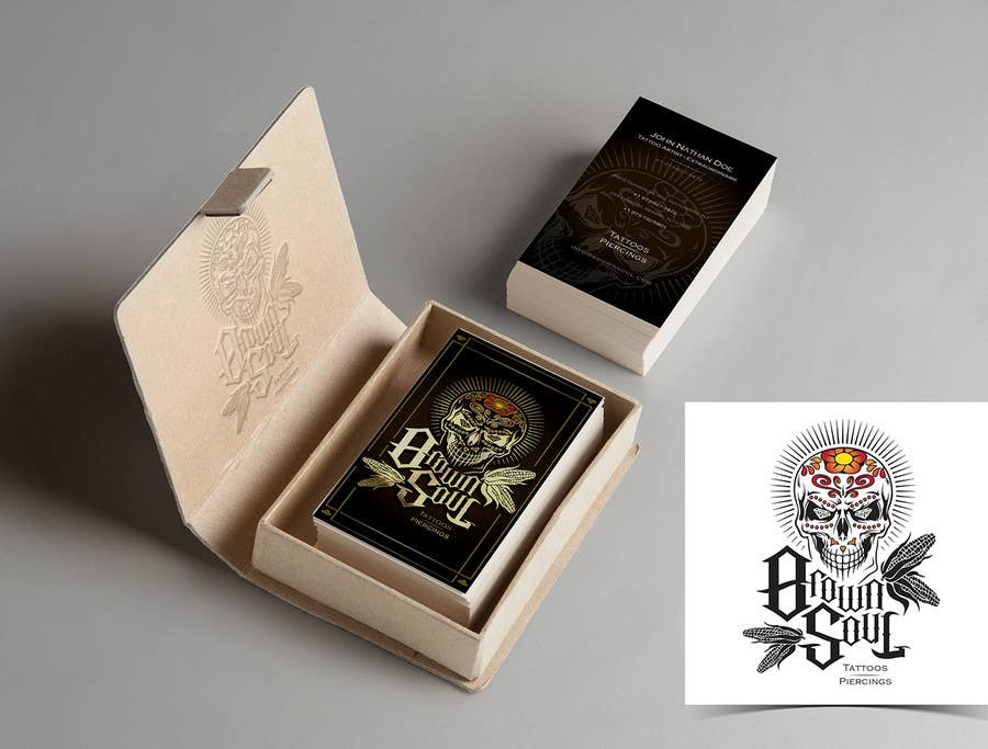 Entry 32 By Seankilian For Tattoo Shop Business Card Design