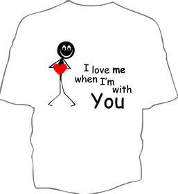 #114 for Design 5 T-Shirts, please (text messages with or without graphics). by Aly01