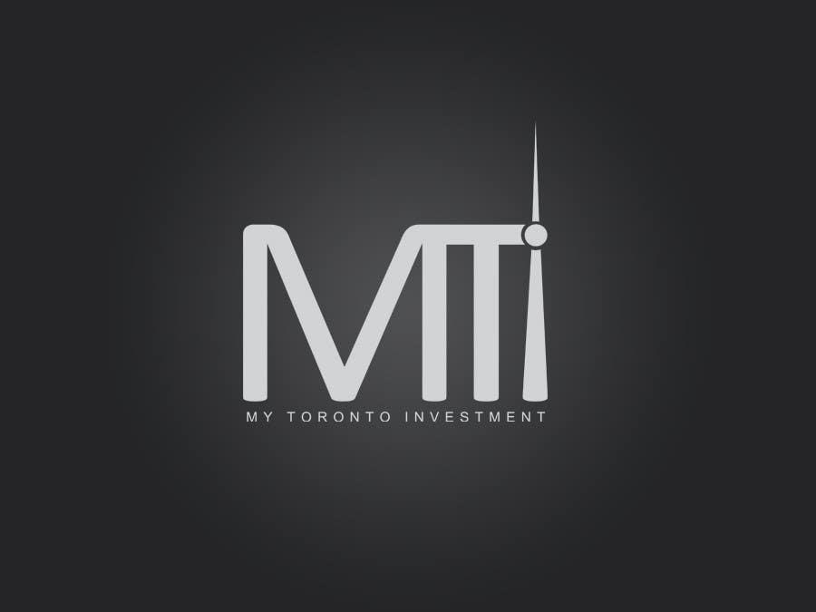 Penyertaan Peraduan #166 untuk Logo Design for My Toronto Investment