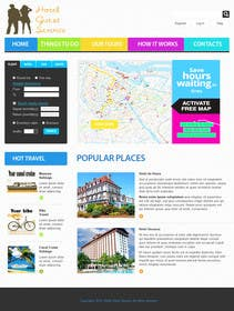 nº 4 pour Redesign logo & homepage par okakzai