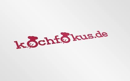 salmanmemon771 tarafından Design a logo for the German cooking blog kochfokus.de için no 32