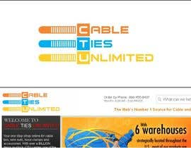 #28 para Design a Logo for Cable Ties Unlimited por lanangali
