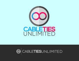 #131 untuk Design a Logo for Cable Ties Unlimited oleh jakemontibon