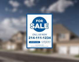 fb5747e5b376d60 tarafından Real Estate Yard Sign Design için no 52
