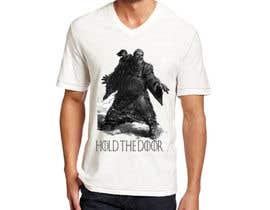 "hamxu tarafından Design a ""Game of Thrones"" Themed T-Shirt - için no 16"