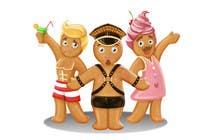 Bài tham dự #57 về Photoshop cho cuộc thi Illustration of Gay Gingerbread Men