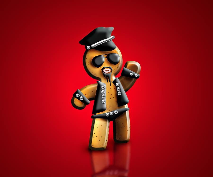 Bài tham dự cuộc thi #10 cho Illustration of Gay Gingerbread Men