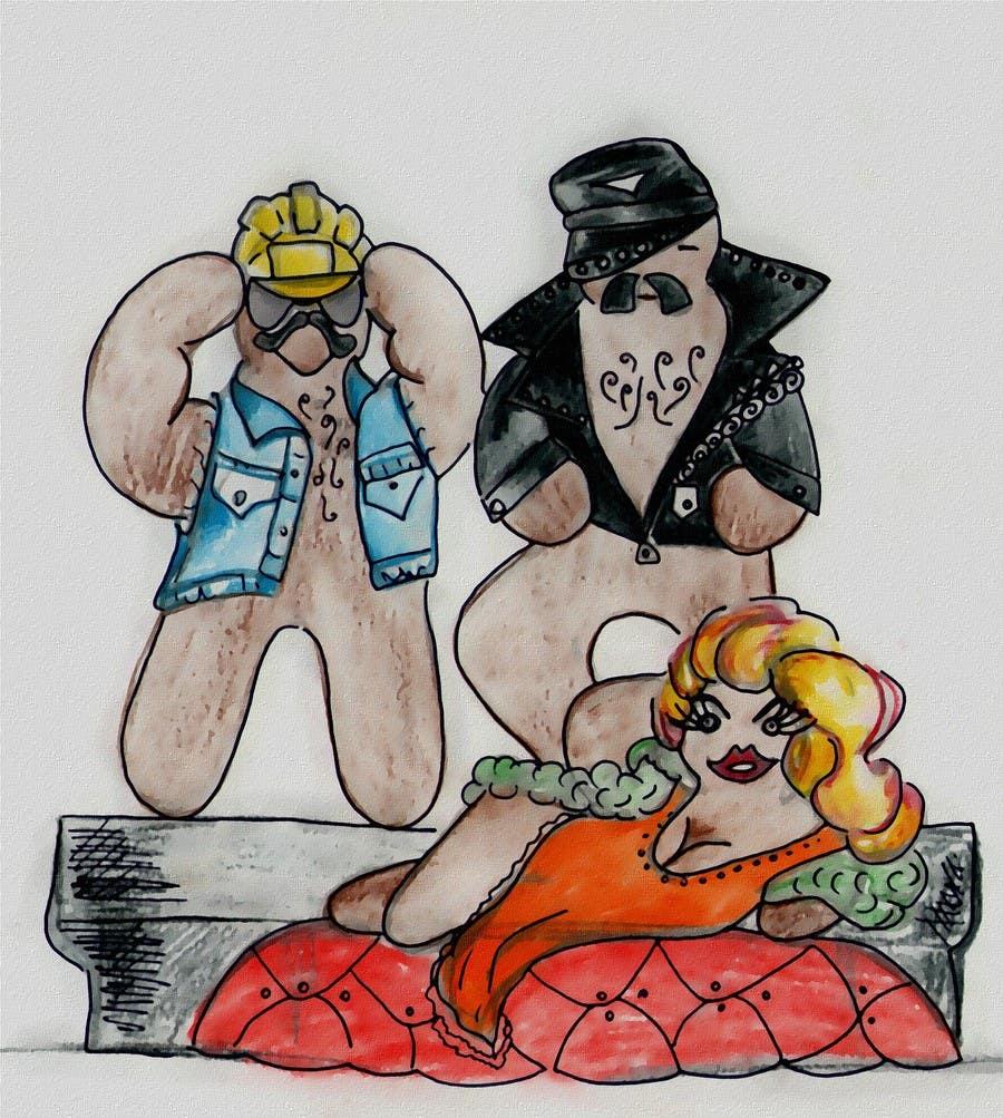 Bài tham dự cuộc thi #14 cho Illustration of Gay Gingerbread Men