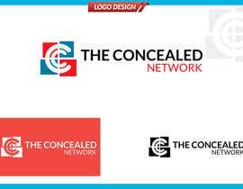 Nro 289 kilpailuun Logo Design for The Concealed Network käyttäjältä Dezerteagle
