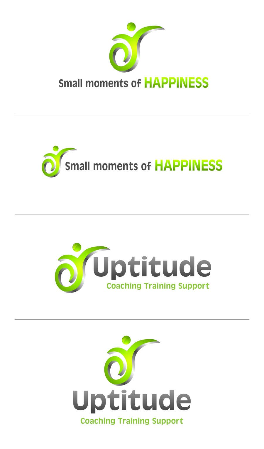 #27 for Design a Logo for Small Moments of Happiness, from Uptitude by zswnetworks