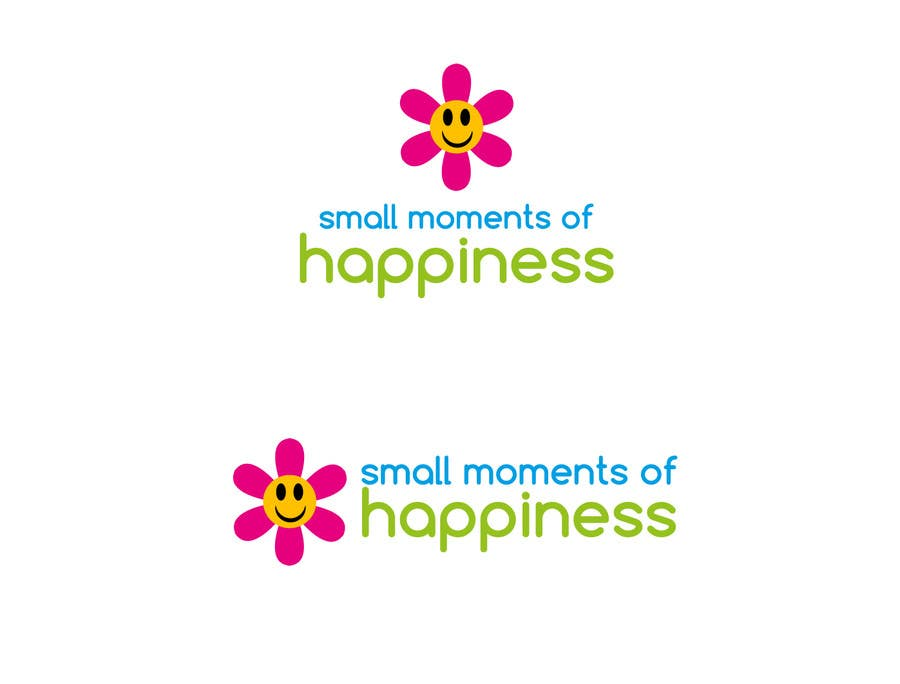 #45 for Design a Logo for Small Moments of Happiness, from Uptitude by YamahaMama