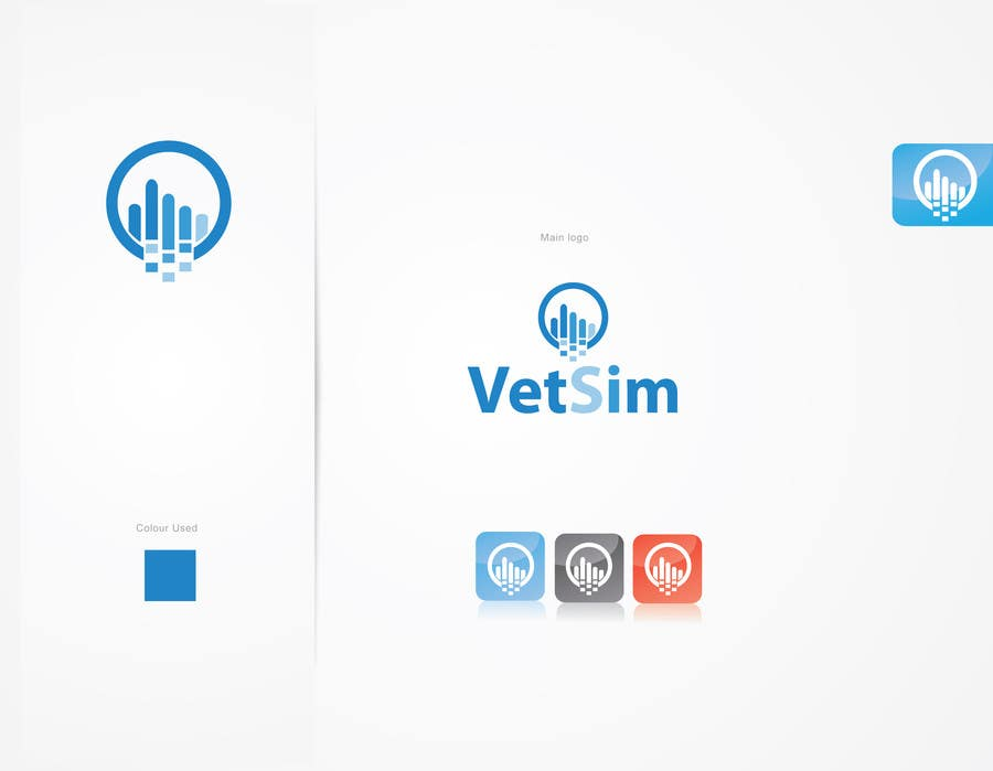 #269 for Design a Logo for VetSim by alizainbarkat