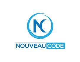 Nro 183 kilpailuun Design a Logo for Nouveau code feat. Digital fingerprint käyttäjältä UturnU