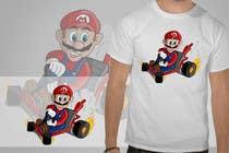 Draw Super Mario Kart caricature için Graphic Design8 No.lu Yarışma Girdisi