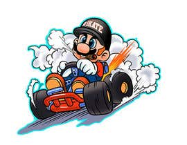#38 for Draw Super Mario Kart caricature af AvatarFactory
