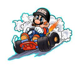 #41 for Draw Super Mario Kart caricature af AvatarFactory