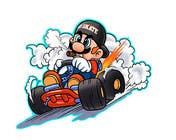 #49 for Draw Super Mario Kart caricature by AvatarFactory
