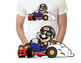 #36 for Draw Super Mario Kart caricature af ysfworks