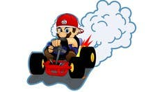 Draw Super Mario Kart caricature için Graphic Design52 No.lu Yarışma Girdisi