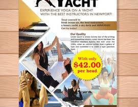 Nro 35 kilpailuun Design Yoga on a Yacht Flyer käyttäjältä tk6986