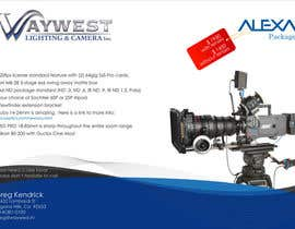 #24 untuk Sales Email Brochure Design for Waywest Lighting & Camera Inc. oleh enderiplikci