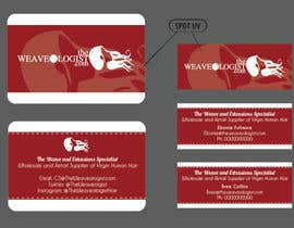 #7 untuk Create Luxe Business Cards for Hair company oleh DavidClarkDesign