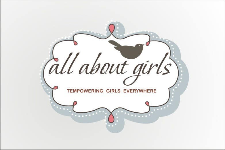Participación en el concurso Nro.66 para Logo Design for All About Girls